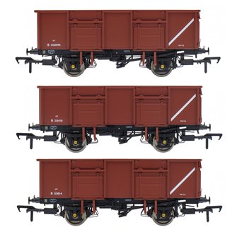 BR 21T COAL21VB / MDV Mineral Wagon Triple Pack - Bauxite Pre-TOPS- Pack A