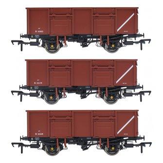 BR 21T COAL21VB / MDV Mineral Wagon Triple Pack - Bauxite Pre-TOPS- Pack B