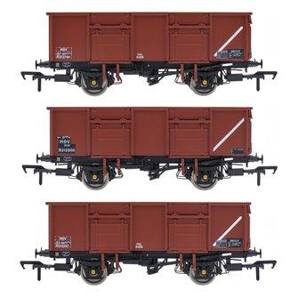 BR 21T COAL21VB / MDV Mineral Wagon Triple Pack - Bauxite Pre-TOPS- Pack D