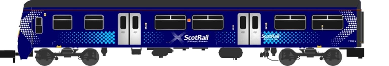 Class 320 318 Scotrail Saltire (2013-Present) 3 Car EMU