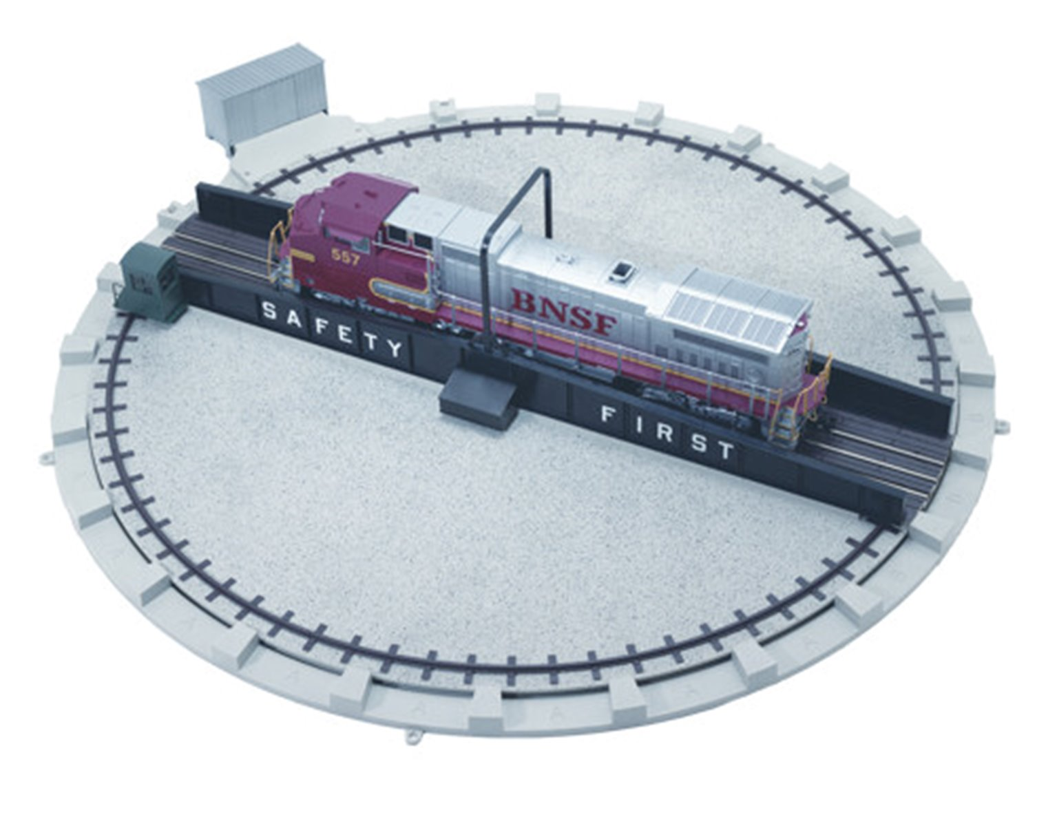 Atlas 6910 O Gauge Turntable (For 3-Rail And 2-Rail Operation)