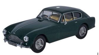 Oxford Diecast AMDB2001 Aston Martin DB2 MkIII Saloon British Racing Green