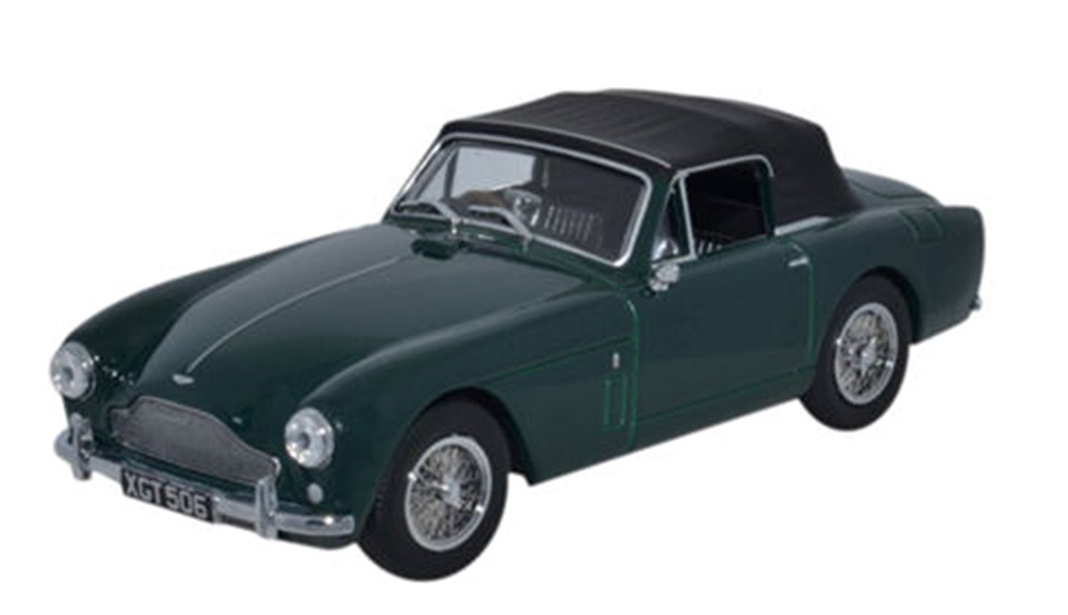 Aston Martin DB2 MkIII DHC Dark British Racing Green