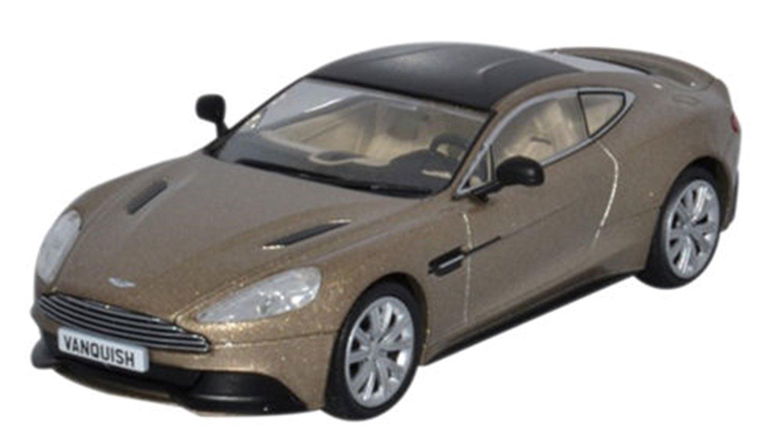 Oxford Diecast AMV002 Aston Martin Vanquish Coupe Selene Bronze