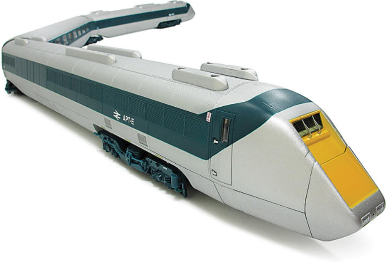 Advanced Passenger Train APT-E 4 Car Set - DCC Sound