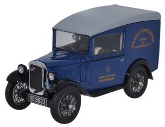 Oxford Diecast ASV005 Austin Seven Van Daniel Doncaster