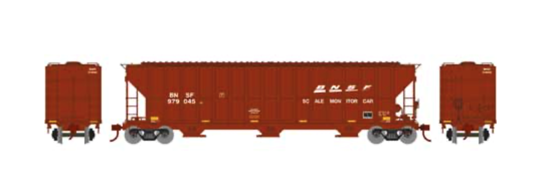 RTR FMC 4700 Covered Hopper, BNSF/Scale #979045