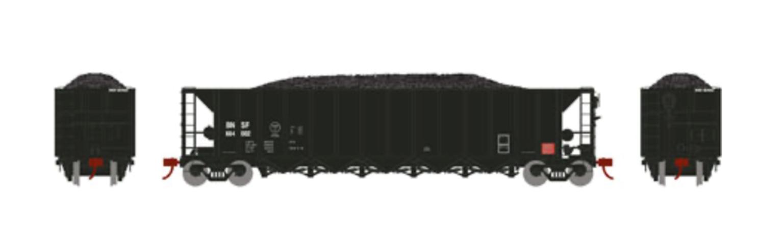 RTR 5-Bay Rapid Discharge Hopper, BNSF #664002