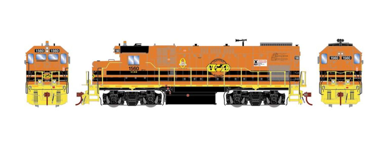 GP15-1 Ventura County Railroad VCRR Diesel Locomotive #1560 (DCC Ready)