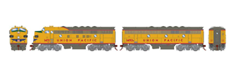 F7A / F7B Union Pacific UP Twin Locomotive Set #1471, #1492B with DCC Sound
