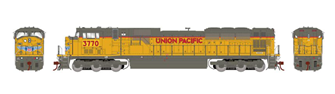 Union Pacific UP G2 SD90MAC Locomotive #3770 (DCC Ready)