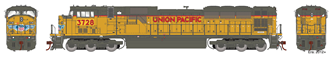 Union Pacific UP G2 SD90MAC Locomotive #3728 with DCC Sound
