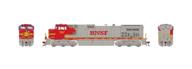 G2 Dash 9-44CW BNSF Diesel Locomotive #767 with DCC Sound