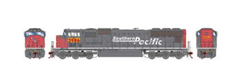SD70M Union Pacific UP/Yellow (ex SP)  Locomotive w/PTC #3986 (DCC Ready)