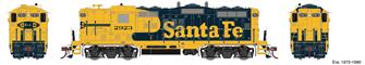 Santa Fe SF GP9 Phase II Locomotive No.2923 with DCC Sound