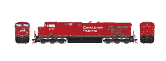 ES44AC Canadian Pacific CPR (Retrucked) Locomotive #8728 with DCC Sound