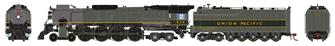 Union Pacific FEF-2 4-8-4 Steam Locomotive #830 (DCC Ready)