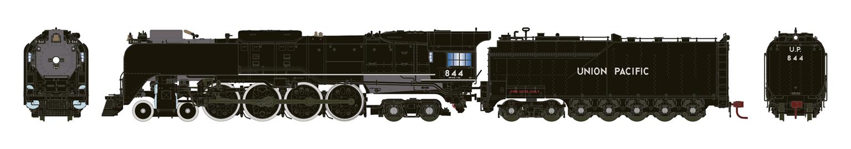Union Pacific FEF-3 4-8-4 Steam Locomotive #844 (DCC Ready)