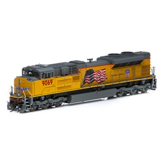 """SD70ACe (SD70AH) Union Pacific UP #9069 """"Building America"""" Locomotive (DCC Ready)"""