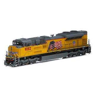 """SD70ACe (SD70AH) Union Pacific UP #9082 """"Building America"""" Locomotive (DCC Ready)"""