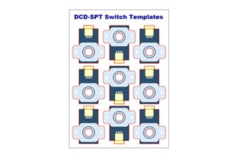 Alpha Switch Templates (Pack of 36)