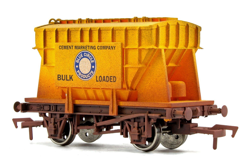 Blue Circle Yellow Presflo Wagon -  Weathered