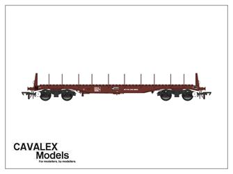 Bauxite BBA Bogie Steel Wagon No.910191