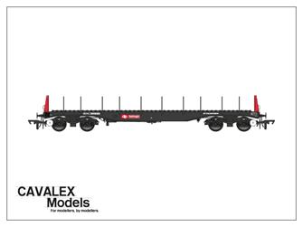 Railfreight BBA Bogie Steel Wagon No.910034