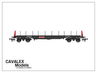 Railfreight BBA Bogie Steel Wagon No.910046 (Exclusive)