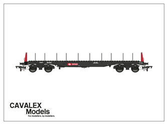 Railfreight BBA Bogie Steel Wagon No.910340