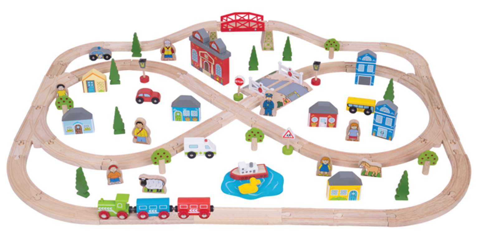 Town and Country Train Set