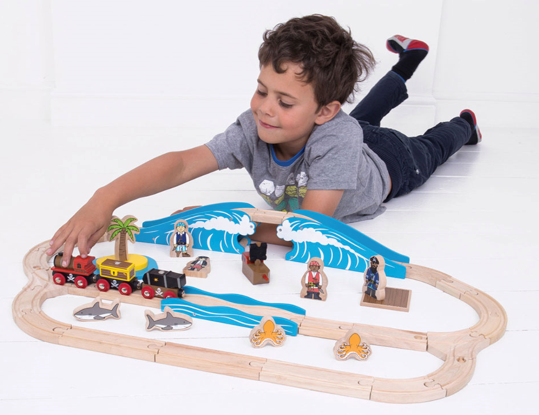 Pirate Train Set
