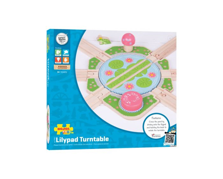 Lilypad Turntable