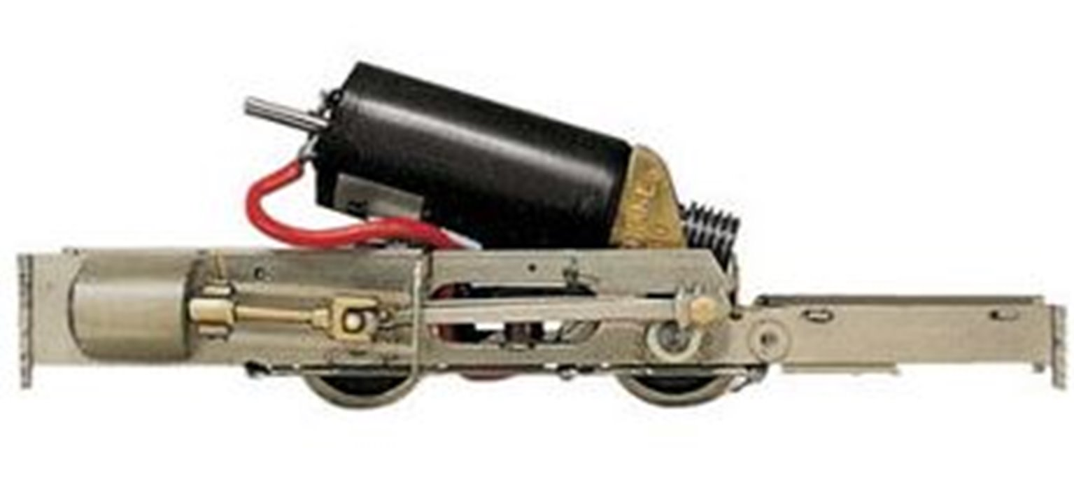 O-16.5 Chassis, with motor & gears (to fit peco hunslet 0L-3)