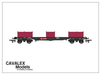 Railfreight BLA Bogie Steel Wagon No. 910009