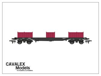 Railfreight BLA Bogie Steel Wagon No. 910228