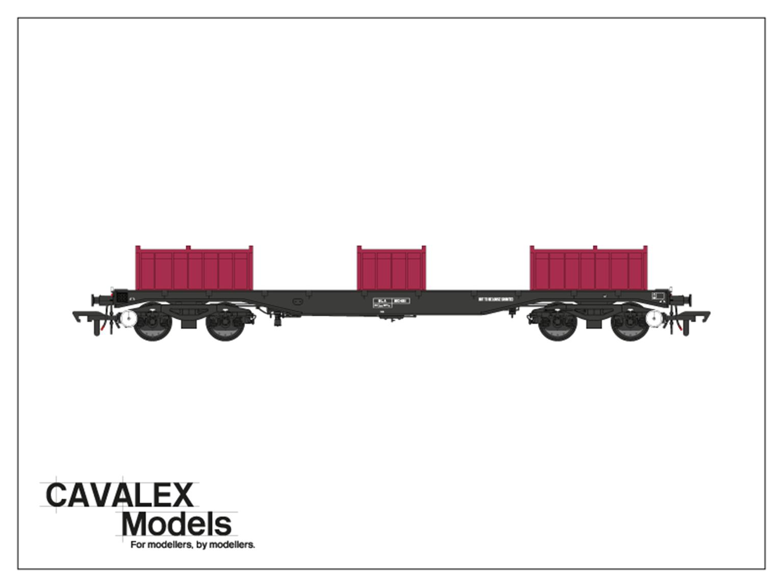 Railfreight BLA Bogie Steel Wagon No. 910481
