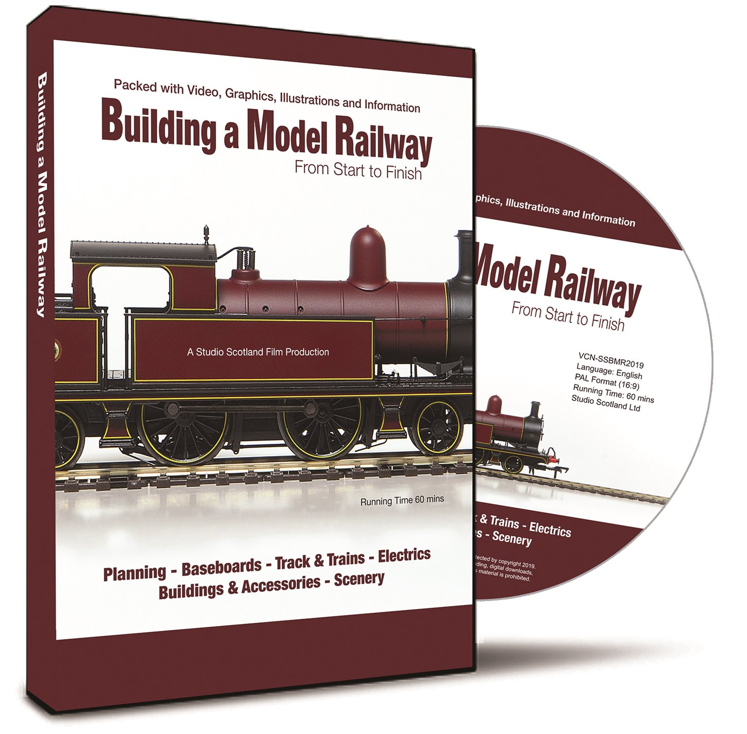 Building a Model Railway From Start to Finish DVD