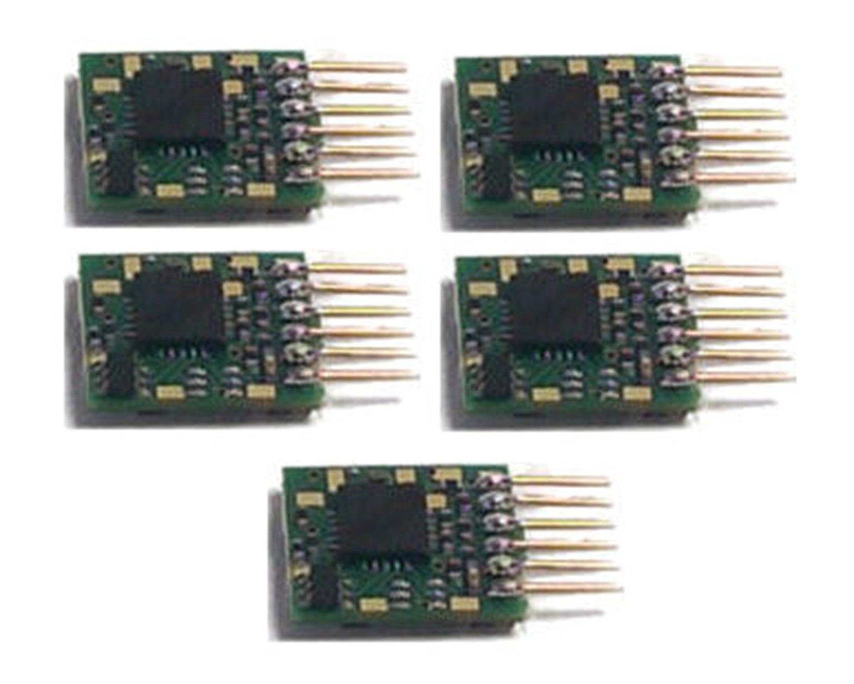 Classic Decoder - 6 Pin Plug-in N Scale Decoder (5 Pack)