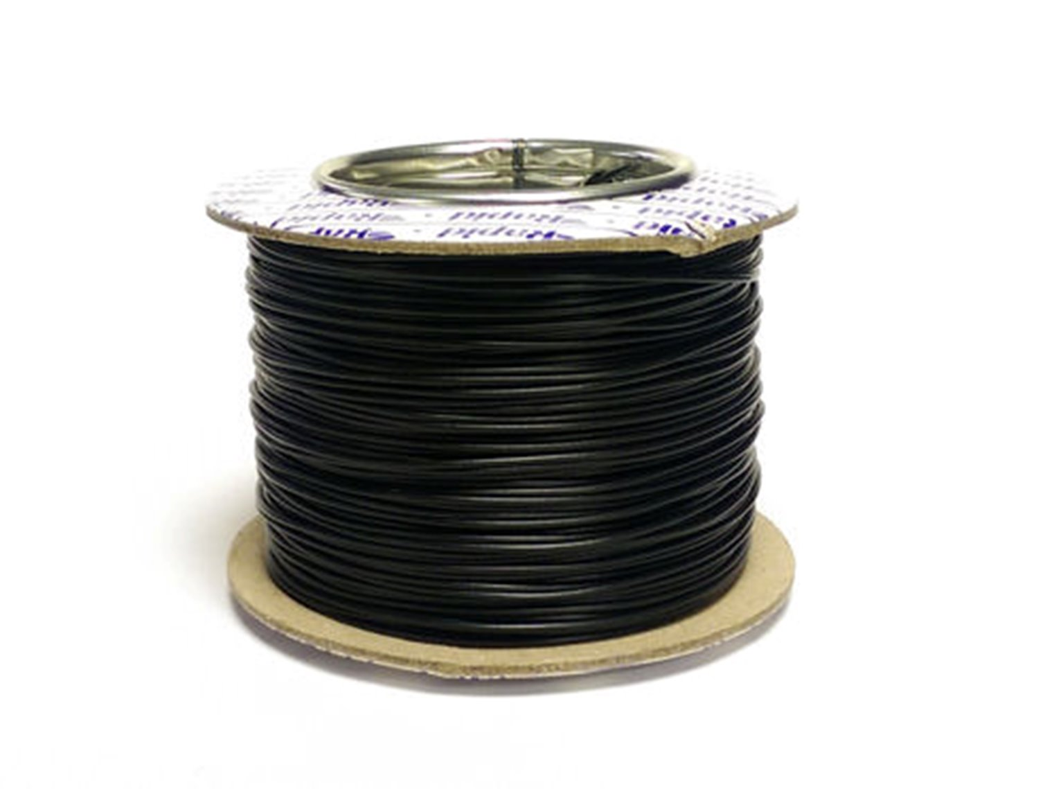100M 7/0.2MM Black Electrical Wire