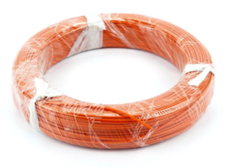 100M 7/0.2mm Orange Electrical Wire