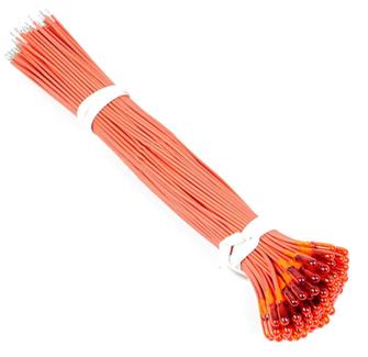 Orange 12v Grain Of Wheat Bulbs (100)
