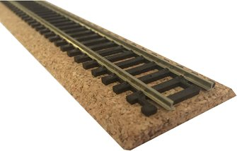 OO Gauge Model Railway Beveled Edge Track Bed - 450mm x 45mm - 5mm
