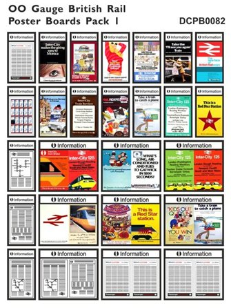 British Rail Poster Boards Pack 1