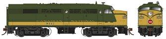 Alco/MLW FA-2 Locomotive - CN Delivery Scheme #9442 - DC/Silent