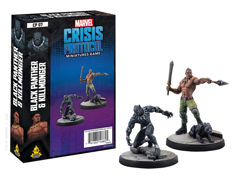 CP07 Marvel Crisis Protocol Black Panther & Killmonger