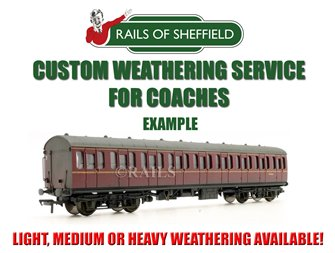 Custom Weathering Service *N/OO GAUGE COACHES ONLY*