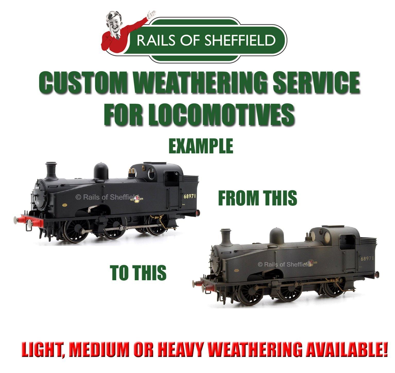 Custom Weathering Service *N/OO GAUGE LOCOS ONLY*
