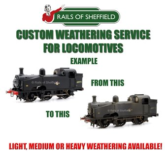 Custom Weathering Service *N/OO GAUGE LOCOS ONLY*