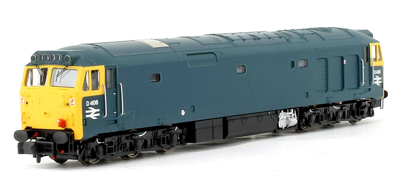Class 50 #D406 BR Blue (Unrefurbished) - DCC Fitted